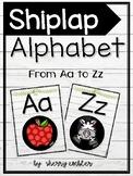 Shiplap/Farmhouse Alphabet Poster Set