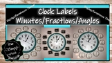 Shiplap/Farmhouse Clock Labels