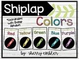 Shiplap/Farmhouse Color Posters