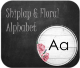 Shiplap Alphabet Posters