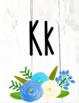 Shiplap Floral Alphabet Posters!