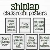 Shiplap Growth Mindset Posters