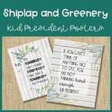 Shiplap Kid President Posters