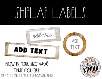 Shiplap Labels