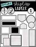 Shiplap Labels EDITABLE