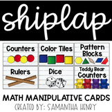 Shiplap Math Manipulative Cards