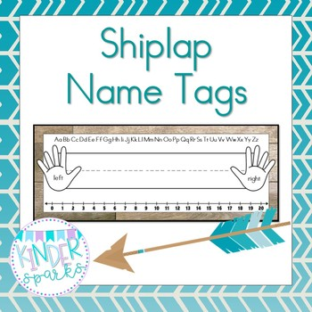 Shiplap Name Tags