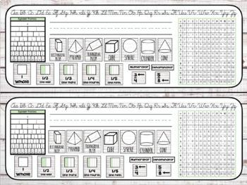 Editable Shiplap Nametags - Math Based