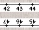 Shiplap Number Line Wall Display ~ -36 to 202