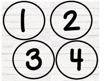 Shiplap Numbers 1-31
