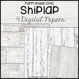 Shiplap ⭐ Google Slides Backgrounds Digital Papers