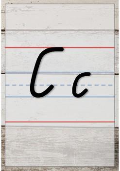 Shiplap Qld Beginners Alphabet Charts