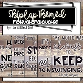 Shiplap Quotes