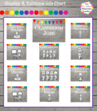 Shiplap & Rainbow Hanging Job Chart