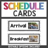 Shiplap Class Decor Schedule Cards