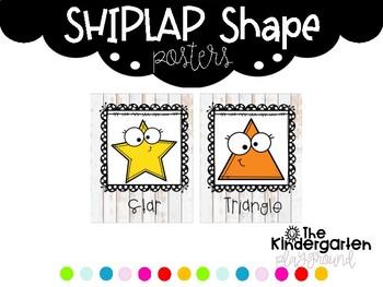 Shiplap Shape Posters