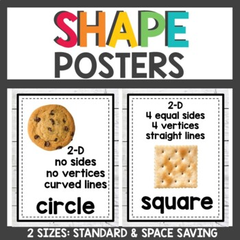 Farmhouse Classroom Decor Shape Posters with attributes