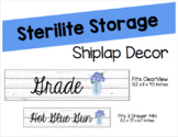 Shiplap Sterilite Labels (Editable)