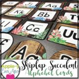 Shiplap Succulent - Word Wall & Editable Labels