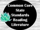 Shiplap & Succulents Common Core ELA I CAN STATEMENT cards for third grade!