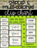 Farmhouse Theme Clip Chart