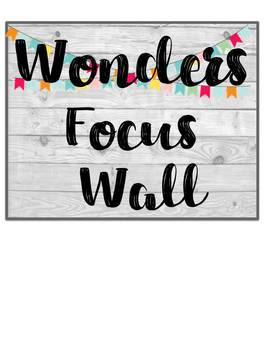 Shiplap Wonders Focus Wall Headings