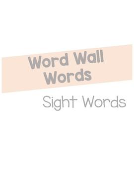 Shiplap Word Wall Words
