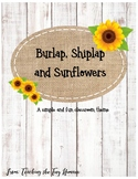 Shiplap and Burlap Classroom Theme