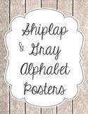 Simply Shiplap Alphabet
