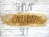 Shiplap and Rae Dunn Themed Calendar Set