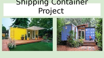 Shipping Container Project Power Point