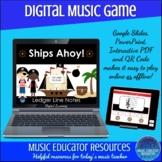 Ships Ahoy | Treble and Bass Ledger Line Notes | Interacti