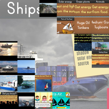⭐2nd Grade Science ❘ Physical Science Powerpoint ❘ Ships and Boats ❘ STEM