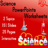 Grade 2 Science Powerpoint and Worksheet Pack ❘ Leveled Reading ❘ 2 Topics