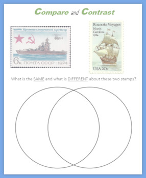 Ships:  Fun with Postage Stamps