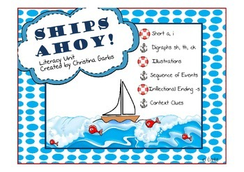 Ships & Ocean AND Other Literacy Activities