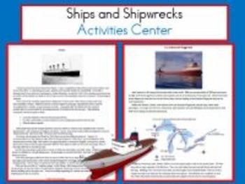 Ships and Shipwrecks Activity Center