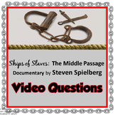 Middle Passage Ships of Slaves (Steven Spielberg) Document