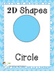 Shape Posters - 2D and 3 D