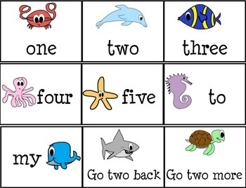 Shipwreck Sight Word Game
