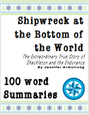 Shipwreck at the Bottom of the World: 100 word summaries