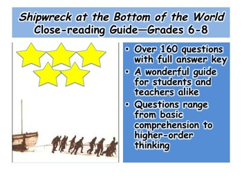 Shipwreck at the Bottom of the World Close-reading Guide—Grades 6-8