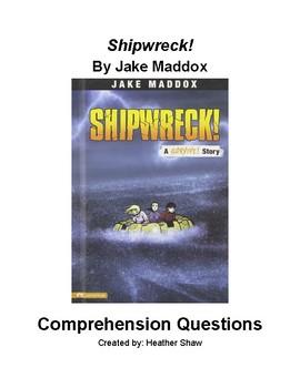 Shipwreck! by Jake Maddox