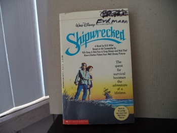 Shipwwrecked ISBN 0-590-44775-0