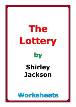 """Shirley Jackson """"The Lottery"""" worksheets"""
