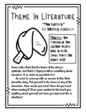 """Shirley Jackson's """"The Lottery"""" Ultimate Teaching Packet"""
