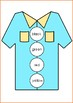 Shirt Button Colour or Color Match Preschool and Kindergarten