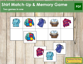 Shirt Match-Up and Memory