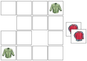 Shirt Match-Up and Memory