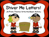 Talk Like a Pirate Day!  {A Pirate Themed Alphabet Write-t